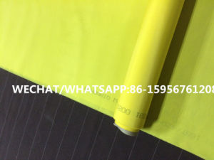 Factory Price Good Quality ISO9001 7t (18mesh) - 165t (420mesh) 100% Polyester Screen Printing Mesh for Silk Screen pictures & photos