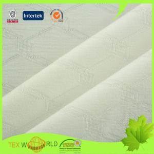 Plaid Jacquard Knitting Stretch Polyester Lycra Underwear Fabric (WPE3111)