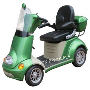 500W Disabled Four Wheel Electric Mobility Scooter for Elder People (ES-029) pictures & photos