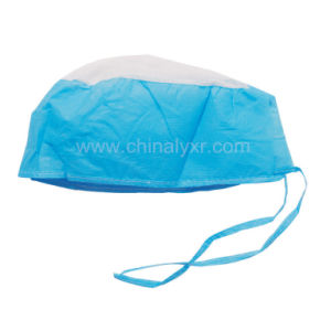 Good Quality Selling Hot Surgeon′s Cap with Tie pictures & photos