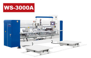 Servo Double-Plate Semi-Auto Stitcher pictures & photos