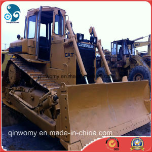 Used Hydraulic/Crawler Caterpillar Track Tractor Bulldozer (CAT-d6d) with Ripper for Sale pictures & photos