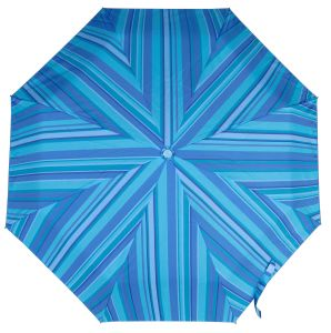 Manual Open Metal Shaft Pocket Umbrella with Stripe Design for Advertising (53S450-1)