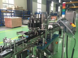 Injection Nozzle Ampoule Filling and Sealing Machine pictures & photos