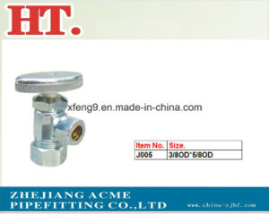Chrome Plating Forged Male Brass Angle Valve or with Circlip pictures & photos