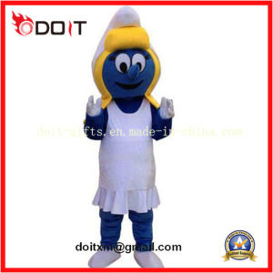 Chinese OEM Facotry Blue Adult Cartton Mascot Costume pictures & photos