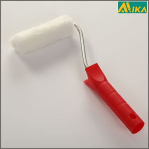 "4"" White Acrylic Mini Paint Roller with Plastic Handle pictures & photos"