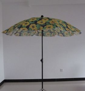 Beach Umbrella with Heat Transfer printing and High Qality pictures & photos
