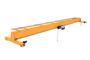 Heavy Duty Bridge Crane with Open Winch pictures & photos