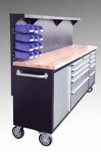 "84""Stainless Steel Rolling Tool Chest pictures & photos"