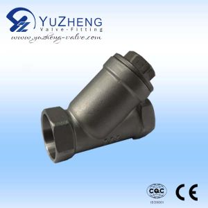 Stainless Steel Y-Type Socket-Welding Strainer pictures & photos