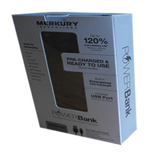Printed Paper Packaging Box for Electronic Product (Power Bank) pictures & photos