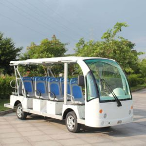 CE Approved 14 Passenger Battery Powered Electric Touring Bus (DN-14) pictures & photos