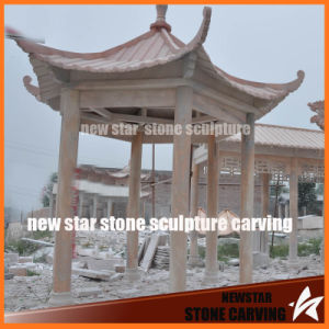 Chinese Six-Angle Pavilion in Garden pictures & photos