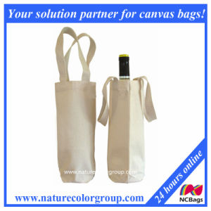 100% Cotton Recycled Wine Bag pictures & photos
