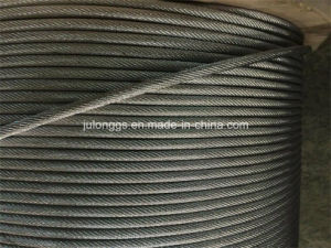 Steel Wier Rope, Ungalvanized Steel Wire Rope 19*7 pictures & photos