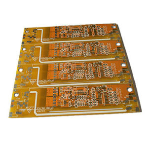 Single Side PCB (1.6mm 105UM Gold Plating) pictures & photos