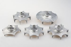 Aluminium Die Casting Washing Machine Part-Motor Pulley