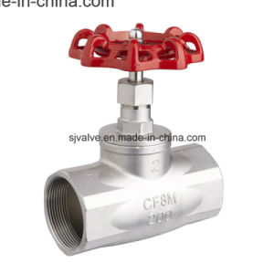 Stainless Steel Threaded Globe Valve 200psi pictures & photos