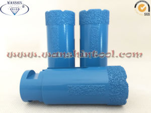 Dry Drill Bit with Protection Stripes for Granite Ceramic pictures & photos