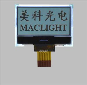 128X64 Dots Graphic Cog Mono LCD Module Display with Spi Interface pictures & photos