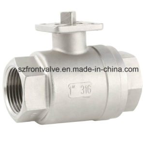 1PC Screwed Ball Valve with ISO5211 Mounting Pad pictures & photos