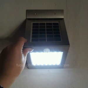 Fq-502 Stainless Steel Solar Infrared Motion Sensor Light pictures & photos