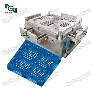 Double Side Plastic Pallet Mould pictures & photos
