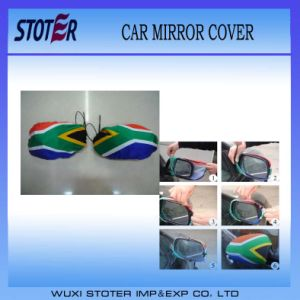 Cheap Promotion Car Mirror Cover/Flag pictures & photos