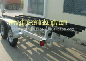 Galvanized Steel Heavy Duty and Big 7.3m Boat Trailer with Bunk to Sale Bct0108p pictures & photos