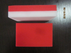 Different Color Square Shape Melamine Sponge, Magic Cleaning Sponge pictures & photos