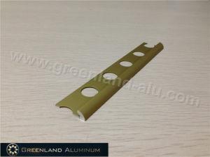 Matt Gold Aluminum Straight Flooring Trim pictures & photos