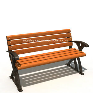 Park Bench, Picnic Table, Cast Iron Feet Wooden Bench, Park Furniture FT-Pb017 pictures & photos