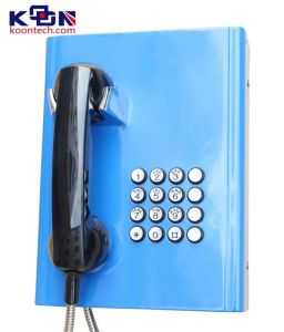 Wall Mounted Public Telephone Knzd-27 Outdoor Emergency Telephone VoIP Phone SIP Phone pictures & photos