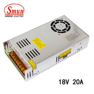 Smun S-350-18 360W 18V 20A Single Output Switching Power Supply pictures & photos