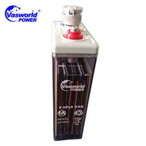 Battery Bank 200AMP Opzs Type 2V200ah Tubular Battery Made in China pictures & photos