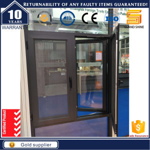 Aluminum Casement Swing Window with Stainless Steel Mesh Screen pictures & photos