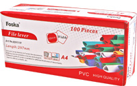 Strong Flat Back PVC Slide Binder (JQ0304) pictures & photos