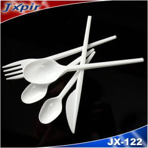 Light White Plastic Dinnerware PS Plastic Cutlery pictures & photos
