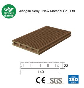 140*23 Outdoor Hollow WPC Decking pictures & photos