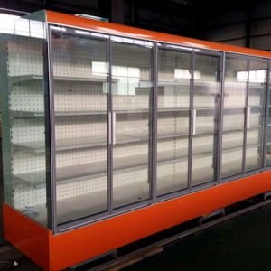 Ce Certification Two Side Glass Door Display Cooler pictures & photos