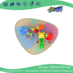 2018 New Outdoor Cartoon Animal Roof Children Playground Equipment for Sale (H17-B5) pictures & photos