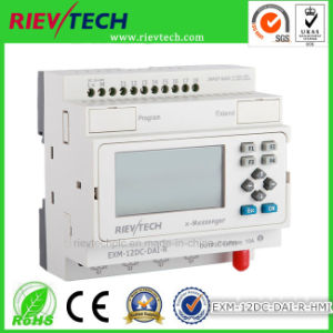 GSM/SMS/GPRS PLC, Ideal Solution for Remote Control& Monitoring &Alarming Applications (EXM-12DC-DAI-R-HMI) pictures & photos