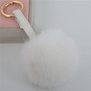 Premium Quality Real Rabbit Fur POM POM pictures & photos