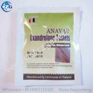Anabolic Oral Steroid Hormone Powder Green Pills Anavar pictures & photos