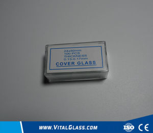 0.13-0.17mm Laboratory Microscope Cover Glass pictures & photos