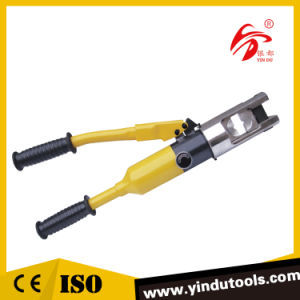 Hydraulic Copper and Aluminum Lug Crimping Tool (ZHO-300) pictures & photos