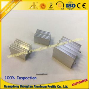 Factory Customized Aluminum Extrusion Profile with CNC Sand Blasiting pictures & photos