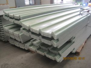 GRP Trapezoidal Roofing Board, Fiberglass Roofing Sheet, FRP Sunlight Panel pictures & photos