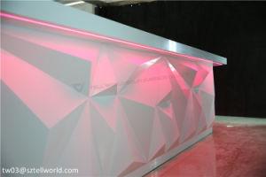 Mordern Artificial Marble Restaurant Bar Counter Design pictures & photos